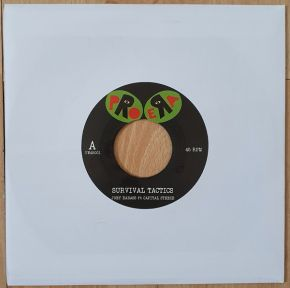 "Survival Tactics / Righteous Minds - 7"" Vinyl Single / Joey Bada$$ ft Capital Steeze / 2021"