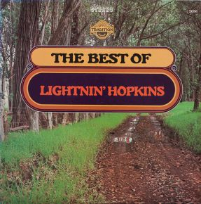 The Best Of Lightnin' Hopkins - LP / Lightnin' Hopkins ‎ / 1974