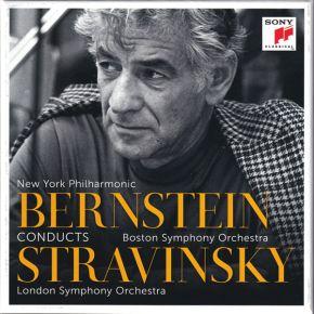 Bernstein Conducts Stravinsky - 6CD / New York Philharmonic, Bernstein, Boston Symphony Orchestra, Stravinsky, London Symphony Orchestra  / 2021