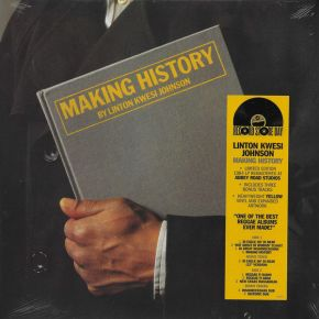 Making History - LP (RSD 2021 Gul vinyl) / Linton Kwesi Johnson / 1984/2021
