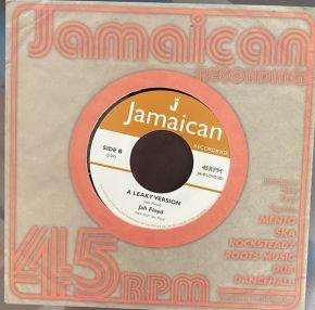 """20 Years Inna Leaky Boat - 7"""" Vinyl (RSD 2021) / Jah Floyd  / 2021"""