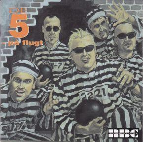 De Fem På Flugt - CD / Rockers By Choice  / 1996