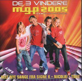 De 3 Vindere - MGP 2005 - CD / Various  / 2005