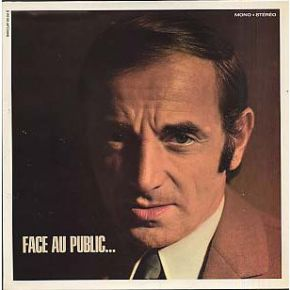 Face Au Public... - LP / Charles Aznavour  / 1968