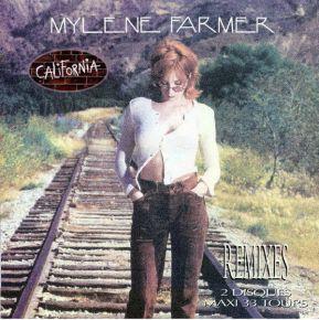 """California (Remixes) - 2x12"""" Vinyl / Mylene Farmer / 1996"""