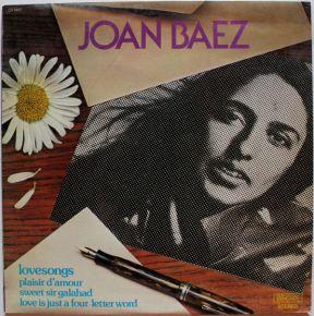 Lovesongs - LP / Joan Baez  / 1977