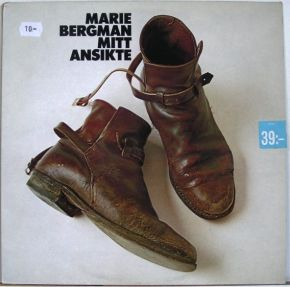 Mitt Ansikte - LP / Marie Bergman / 1974