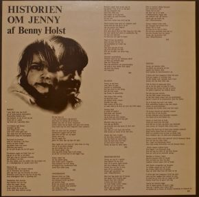 Historien om Jenny - LP / Benny Holst / 1978