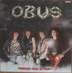 Poderoso Como El Trueno - LP / Obus / 1984