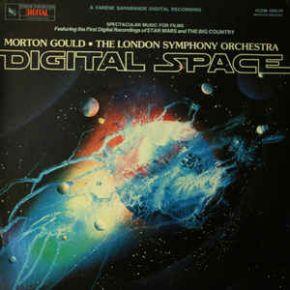 Digital Space (soundtrack - music for films) - LP / Morton Gould, The London Symphony Orchestra / 1980