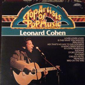 Top Artists Of Pop Music - LP / Leonard Cohen  / 1982