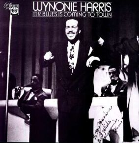 Mr Blues Is Coming To Town - LP / Wynonie Harris  / 1977