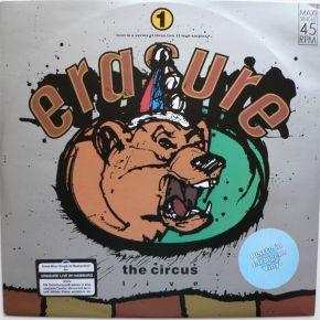 "The Circus (Live) - 12"" Vinyl (hvid vinyl) / Erasure / 1987"