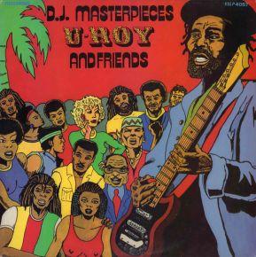 D.J. Masterpieces U-Roy And Friends - LP / Various (U-Roy) / 1983