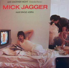 "Just Another Night (Extended Remix) - 12"" Vinyl / Mick Jagger  / 1985"