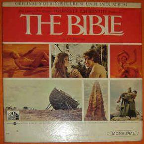 The Bible ... In The Beginning (Original Motion Picture Soundtrack Album) - LP / Toshiro Mayuzumi / 1966