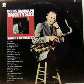 Yakety Sax/Yakety Revisited - 2LP / Boots Randolph  / 1975