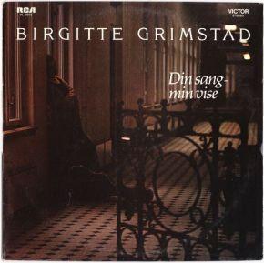 Din Sang - Min Vise - LP / Birgitte Grimstad / 1977