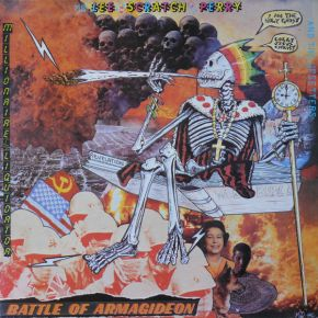 Battle Of Armagideon (Millionaire Liquidator) - LP / Mr Lee 'Scratch' Perry And The Upsetters / 1986