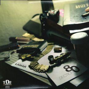 Section.80 - 2LP (Uofficiel Klar Marmor Vinyl) / Kendrick Lamar / 2011/2013