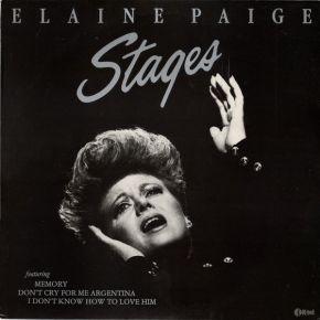 Stages - LP / Elaine Paige / 1983