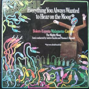 Everything You Always Wanted To Hear On The Moog (But Were Afraid To Ask For) - LP / Andrew Kazdin And Thomas Z. Shepard  / 1973