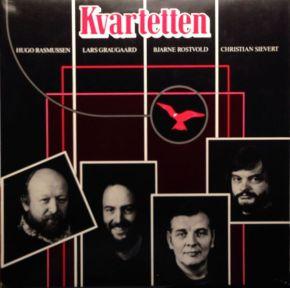 Kvartetten - LP / Kvartetten, Lars Graugaard, Christian Sievert, Hugo Rasmussen, Bjarne Rostvold / 1983