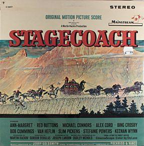 Stagecoach (Original Motion Picture Score) - LP / Jerry Goldsmith / 1966