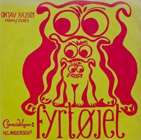 "H.C. Andersens Fyrtøjet - 10"" Vinyl / Comedievognen, Benny E. Andersen, Trille, Andy Sundstrøm  / 1968"