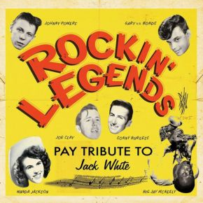Rockin' Legends Pay Tribute To Jack White - CD / Various Artists / 2013