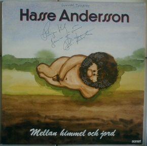 Mellan Himmel Och Jord - LP / Hasse Andersson / 1987