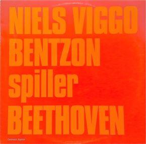 Niels Viggo Bentzon Spiller Beethoven - LP / Niels Viggo Bentzon / 1970