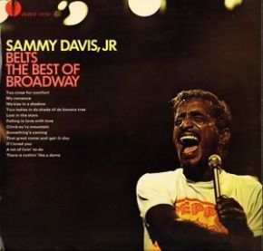 Sammy Davis Jr. Belts The Best Of Broadway - LP / Sammy Davis Jr. / 1962