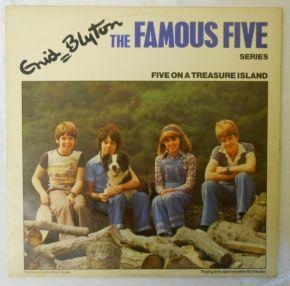 Five On A Treasure Island - LP / Enid Blyton / 1975