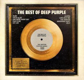 The Best Of Deep Purple - LP / Deep Purple  / 1974