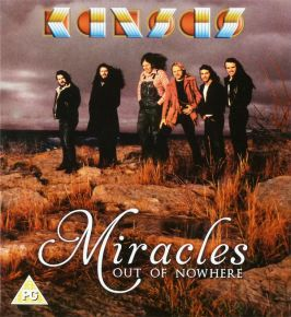 Miracles Out Of Nowhere - DVD+CD / Kansas / 2015