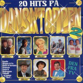 20 Hits På Dansktoppen 2 - CD / Various / 1995
