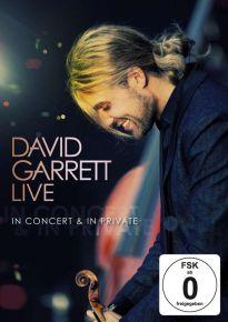 Live In Concert & In Private - DVD / David Garrett / 2011