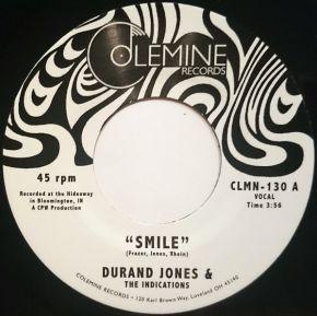 "Smile / Tuck'n'Roll - 7"" Vinyl / Durand Jones & The Indications / 2019"
