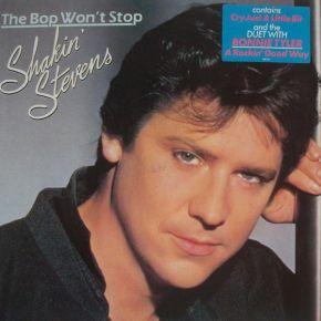 The Bop Won't Stop - LP / Shakin' Stevens / 1983