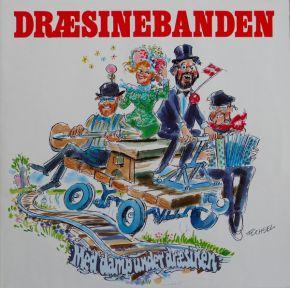 Med Damp Under Dræsinen - LP / Dræsinebanden / 1991