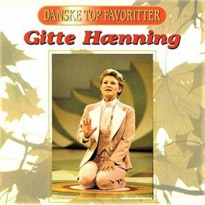 Danske Top Favoritter - CD / Gitte Hænning  / 1996