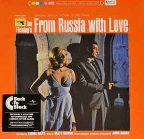 From Russia With Love (Original Motion Picture Soundtrack) - LP / John Barry | Soundtrack / 1963 / 2015