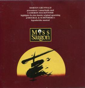 Miss Saigon - Dansk udgave - CD / Various  / 1996