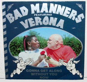 """Gonna Get Along Without You Now - Vinyl 12"""" / Bad Manners / 1989"""