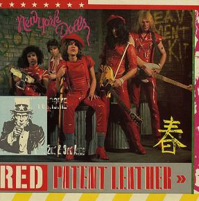 Red Patent Leather - LP (RSD 2019 Hvid Vinyl) / New York Dolls / 2019