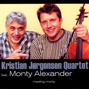 Meeting Monty - CD / Kristian Jørgensen Quartet, Monty Alexander / 2002