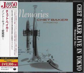 Memories - Chet Baker In Tokyo - 2CD (Japansk Import) / Chet Baker / 1988/2015
