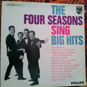 Sing Big Hits - LP / The Four Seasons / 1965