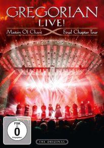 Gregorian Live - Master Of Chant Final Chapter Tour -  cd+dvd / Gregorian / 2016